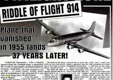 هواپیمایی که گم شد