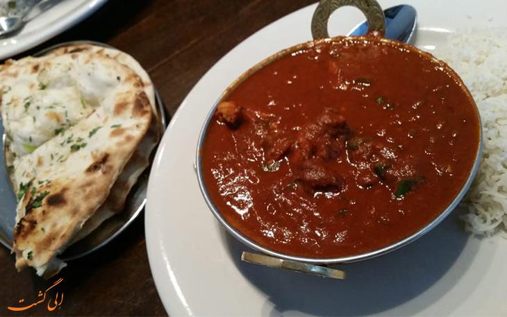 تندترین غذای هندی