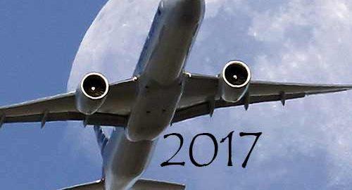 سوانح هواپیمایی 2017