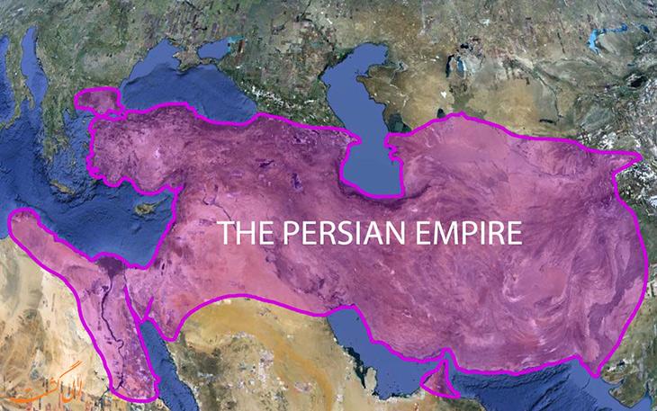 قلمرو ایران در زمان کمبوجیه