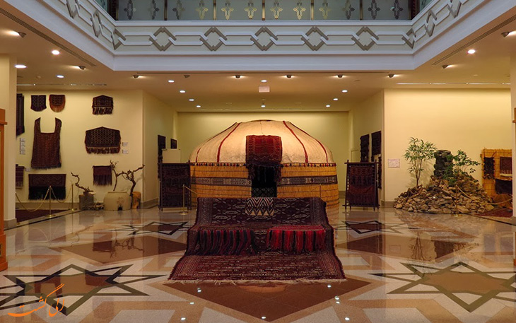 موزه فرش ترکمن