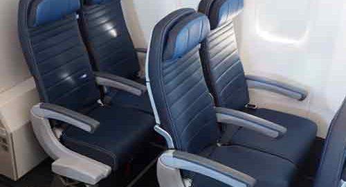 صندلی های موجود در هواپیما
