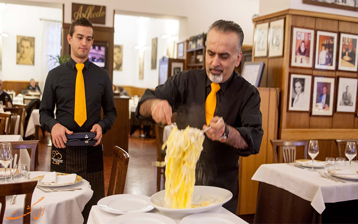 رستوران آلفردو رم