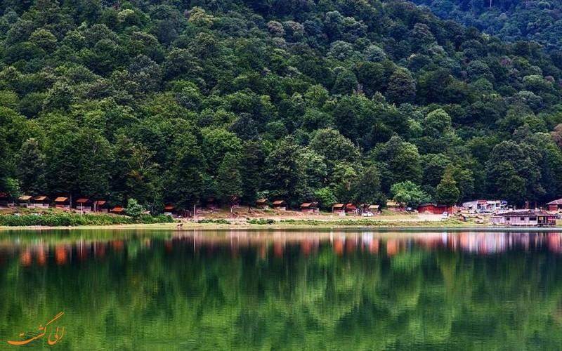 دریاچه زیبای آویدر در مازندران