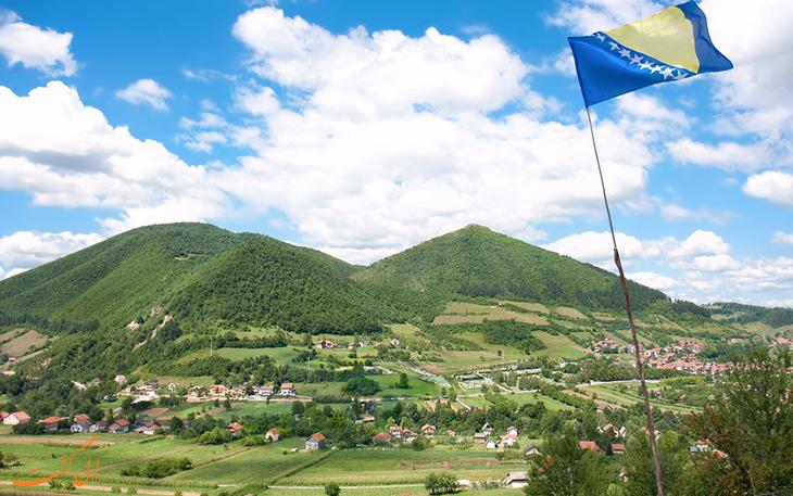 جاذبه های گردشگری بوسنی