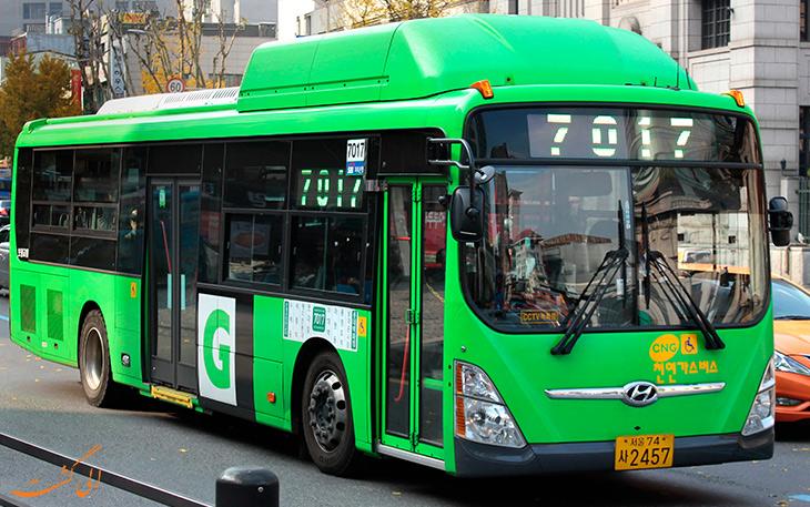هزینه حمل و نقل در کره جنوبی