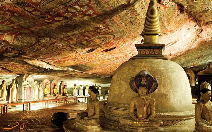 غار دامبولا سریلانکا