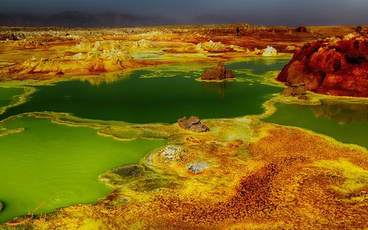 سرزمینی مریخی در اتیوپی