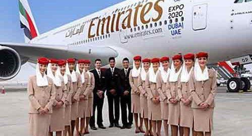 مهمانداران شرکت هواپیمایی امارات