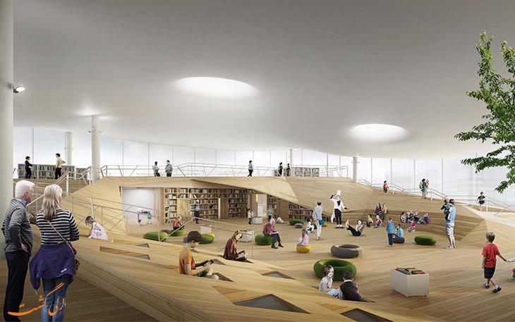 پروژه ساخت کتابخانه اودی