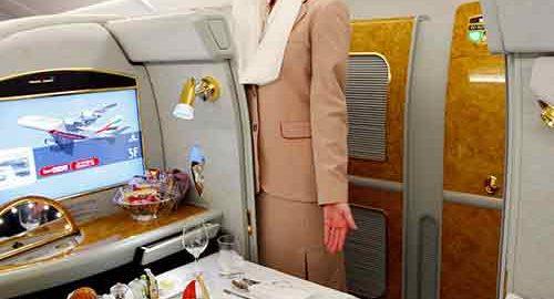 فرست کلاس در هواپیماها