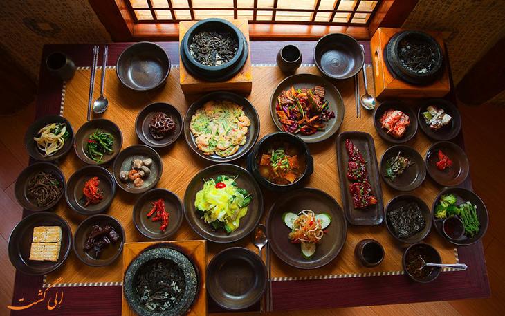 هزینه خورد و خوراک در کره جنوبی