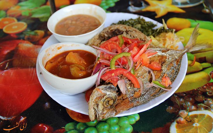 هزینه خورد و خوراک در شهر تانزانیا