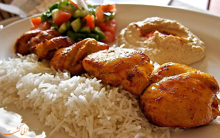 غذاهای آذربایجانی