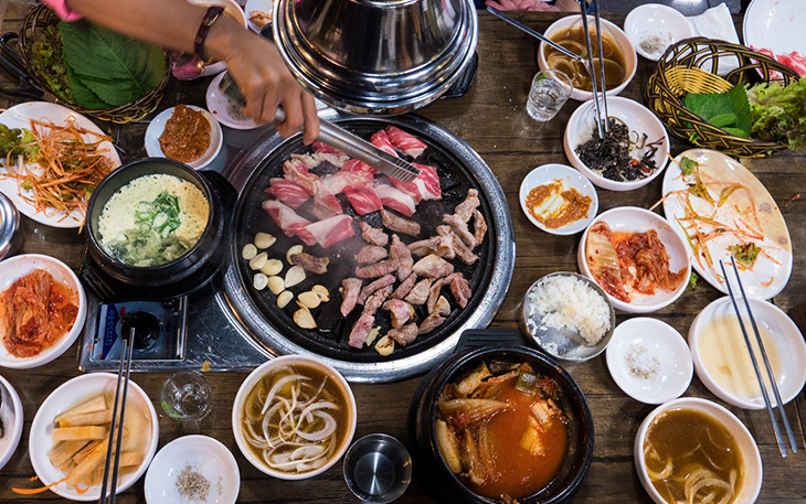 هزینه خورد و خوراک در سئول