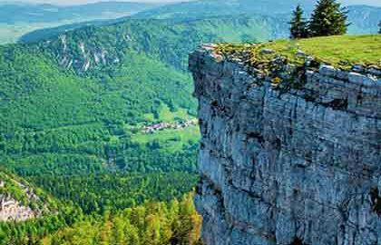 طبیعت گردی در فرانسه