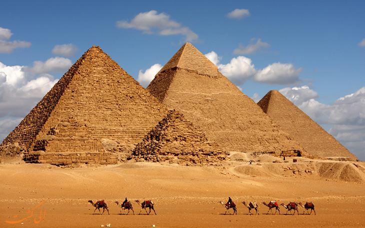 اهرام سه گانه جیزه مصر