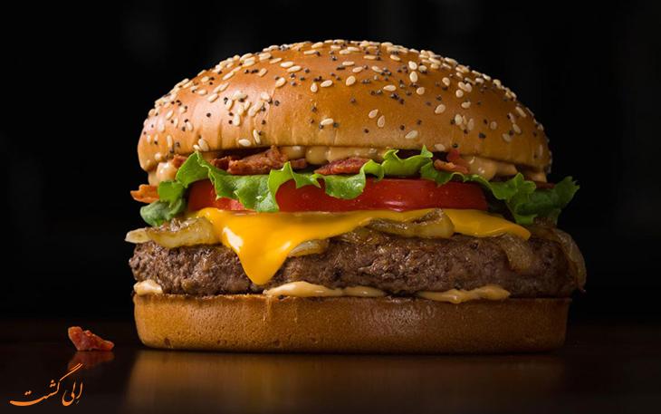همبرگر مک دونالد