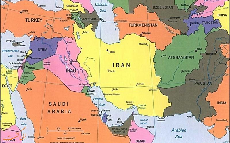 شهرهای مرزی ایران