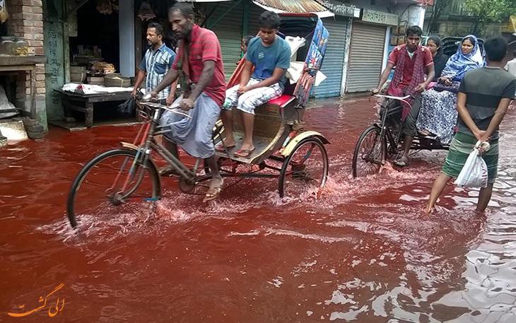 باران خون در کرالا هند