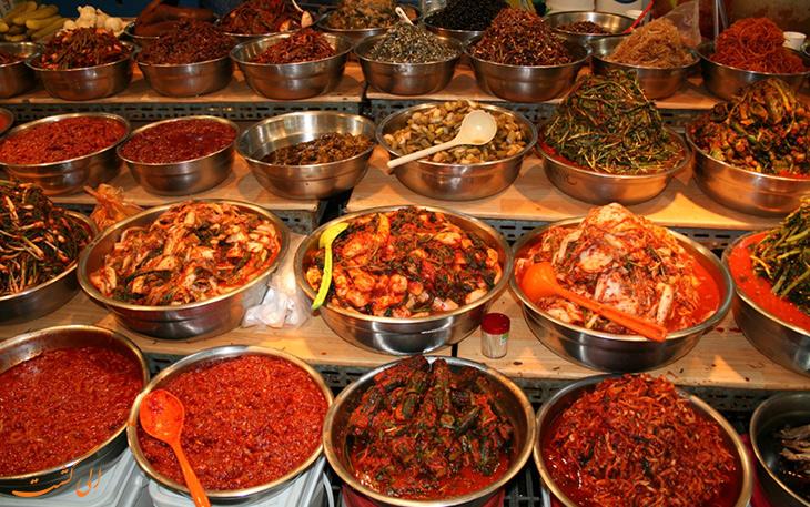 کیمچی غذای ملی کره جنوبی