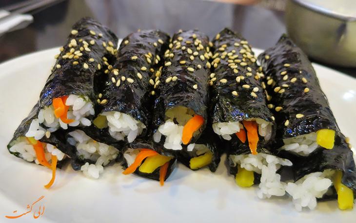 سوشی گیمباپ