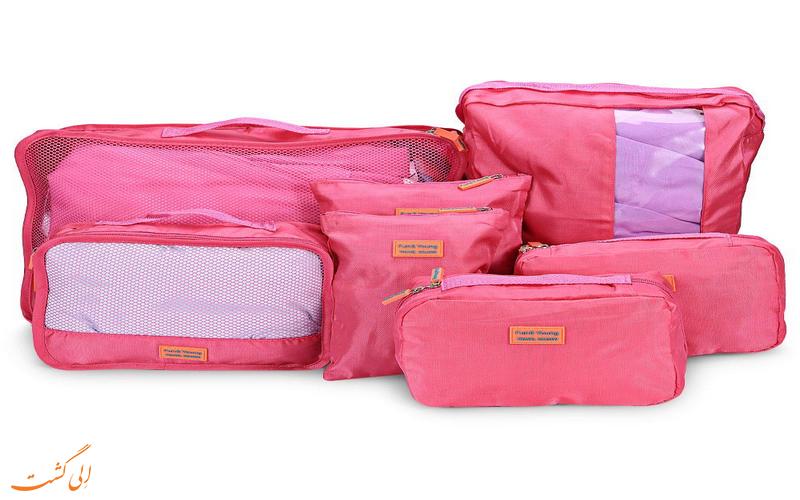 بستن چمدان سفر
