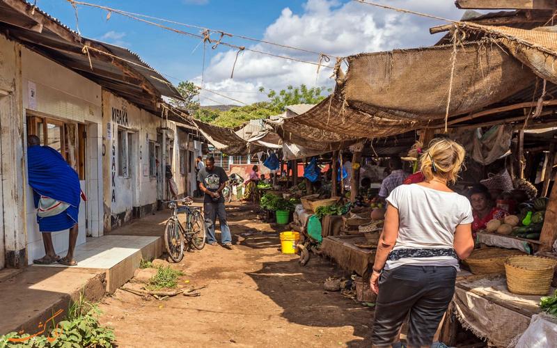 روستای Mto Wa Mbu