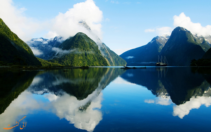 طبیعت نیوزلند