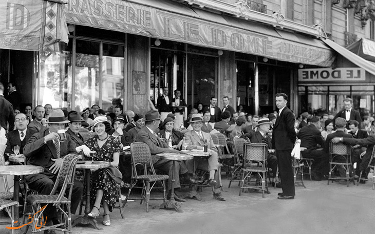 کافه های قدیمی پاریس
