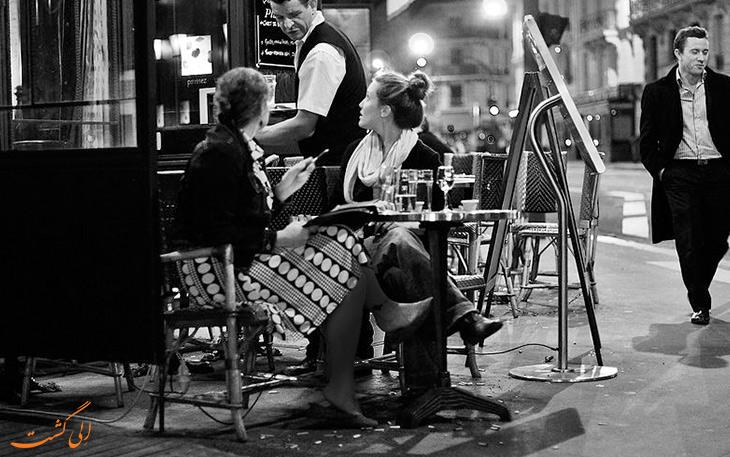فرهنگ کافه نشینی پاریس