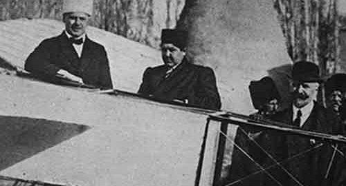 ورود اولین هواپیما در ایران