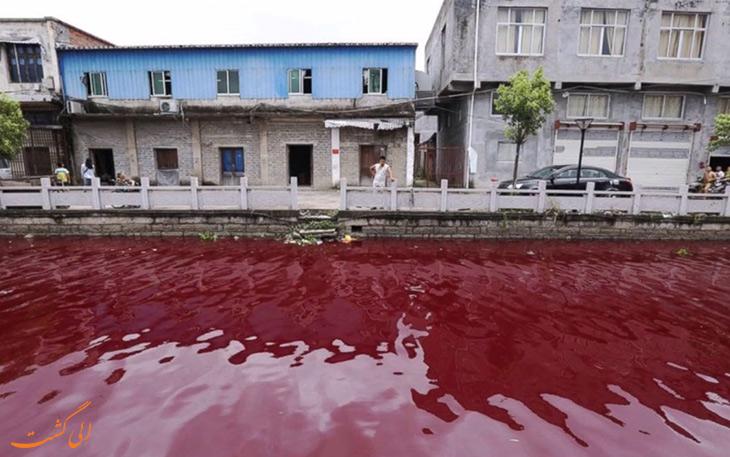 باران قرمز در هند