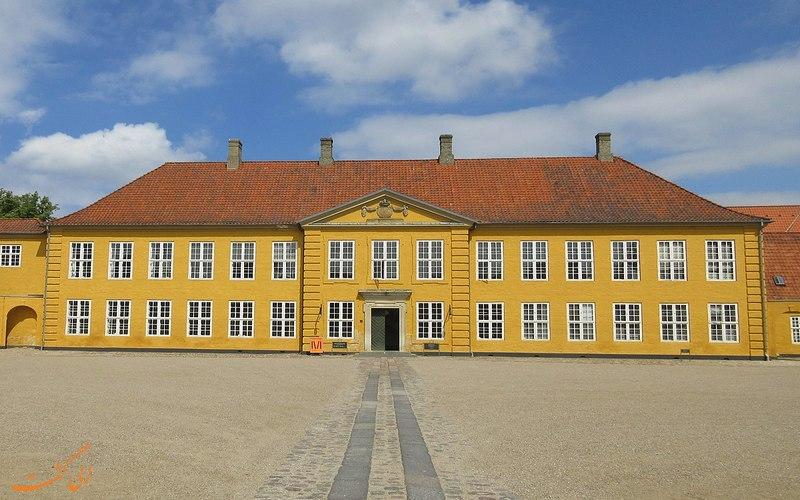 کاخ زرد راسکیله در دانمارک