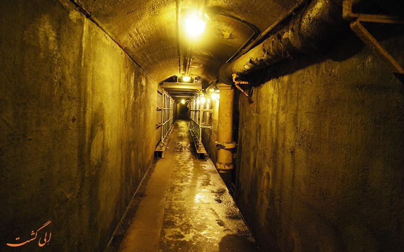 تونل های زیرزمینی