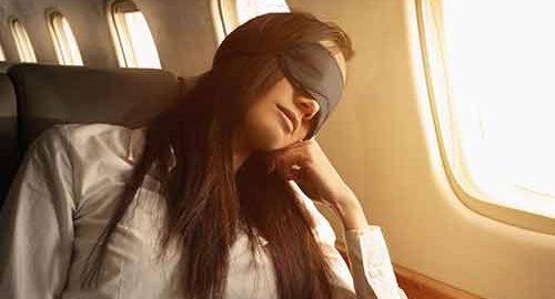 چگونه در هواپیما راحت بخوابیم