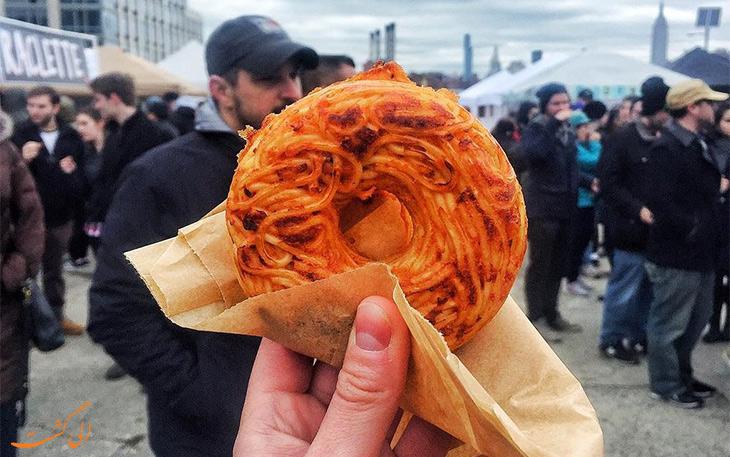 دونات اسپاگتی