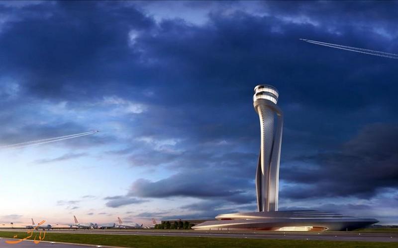 برج کنترل فرودگاه جدید استانبول