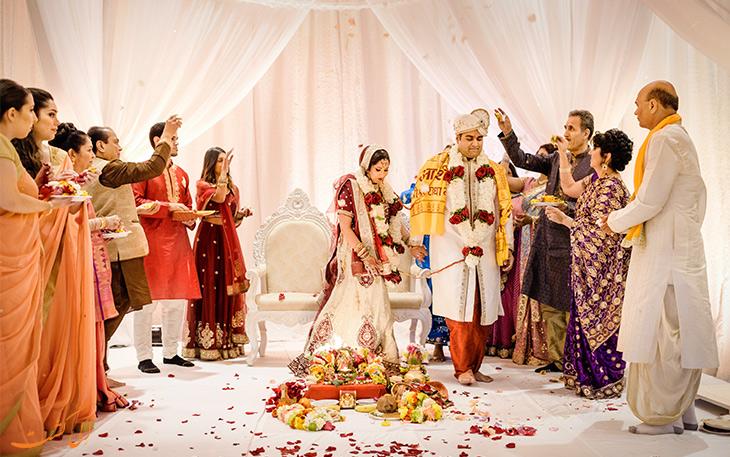 مراسم ازدواج هندی