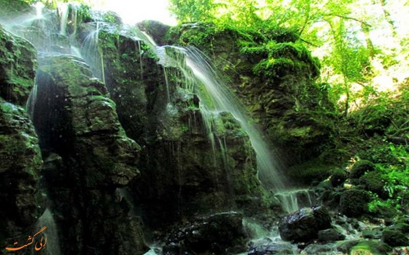 آبشار های کوهسر
