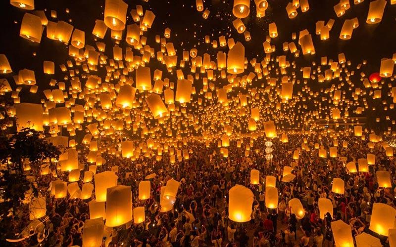 جشن یی پنگ تایلند