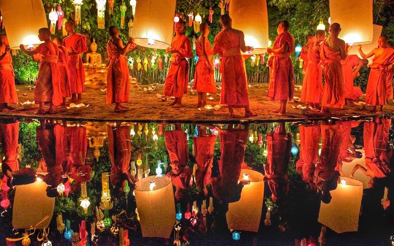 جشن نور تایلند-جاذبه های تایلند