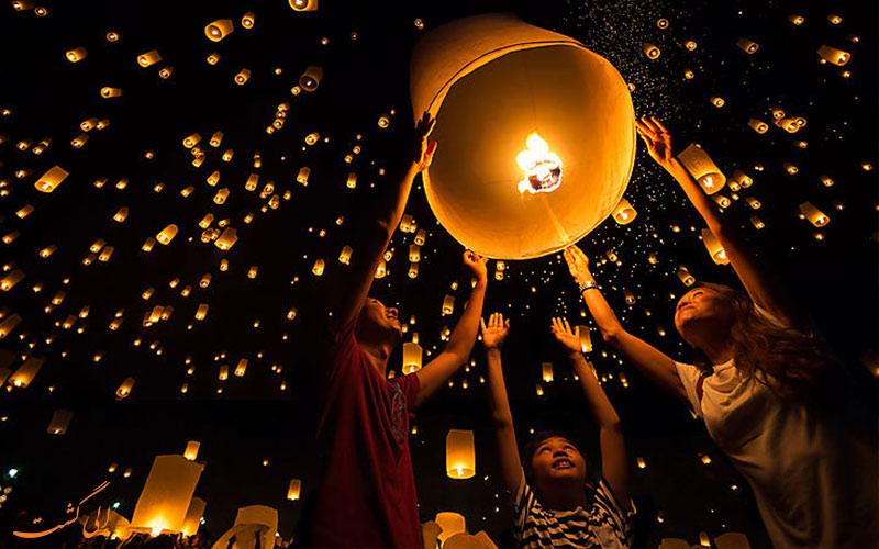 جشنواره نور تایلند
