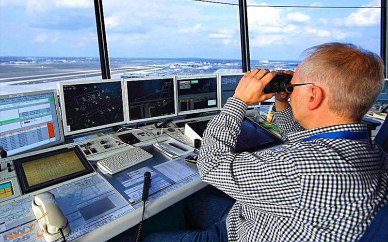 شغل های مربوط به برج کنترل