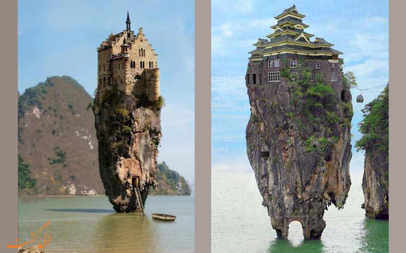 عجیب ترین خانه ها در تایلند