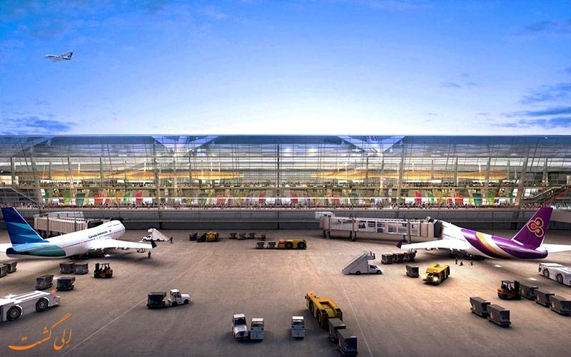 فرودگاه اندونزی