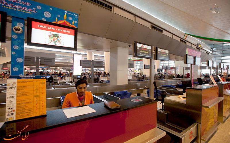 فرودگاه جیپور هند-ترمینال ها