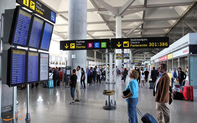فرودگاه مالاگا اسپانیا-امکانات