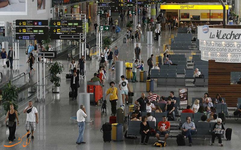 اطلاعات فرودگاه مالاگا اسپانیا