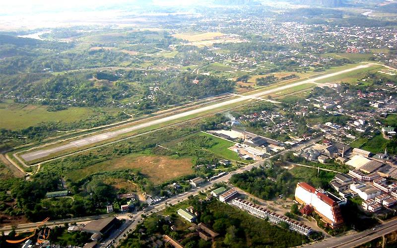 فرودگاه چیانگ رای تایلند-باند فرودگاه
